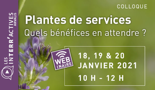 Colloque plantes de services